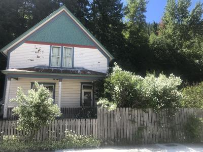 Shoshone County Single Family Home For Sale: 824 Residence