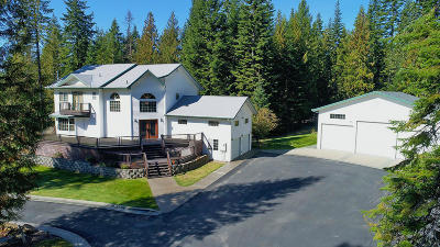 Priest River Single Family Home For Sale: 242 Reynolds Ln