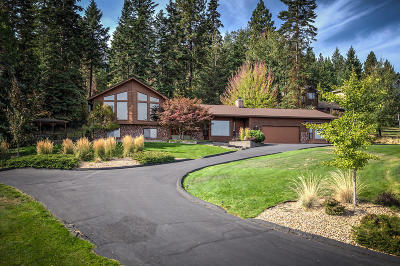Coeur D'alene, Dalton Gardens Single Family Home For Sale: 3288 E Lookout Dr