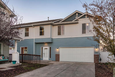 Coeur D'alene Single Family Home For Sale: 7836 N Leverett Ct