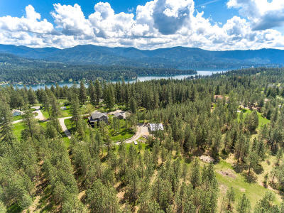 Hayden, Hayden Lake Single Family Home For Sale: 37442 E Hayden Lake Rd