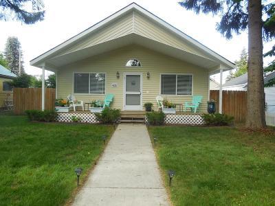 Coeur D'alene Single Family Home For Sale: 1620 E Coeur D Alene Ave