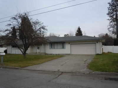 Coeur D'alene Single Family Home For Sale: 802 N 18th St