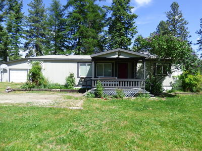 Bonners Ferry Single Family Home For Sale: 639 Blume Hill Rd