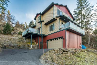 Hayden Single Family Home For Sale: 2412 E Upper Hayden Lake Rd