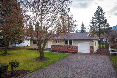 Hauser Lake, Post Falls Single Family Home For Sale: 812 E 1st Ave