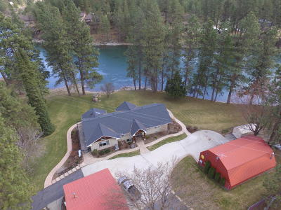 Post Falls Single Family Home For Sale: 893 S Pleasant View Rd