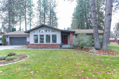 Coeur D'alene Single Family Home For Sale: 3680 W Evergreen Dr