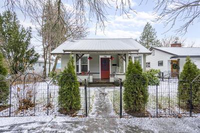 Coeur D'alene Single Family Home For Sale: 716 E Garden Ave