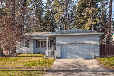 Coeur D'alene Single Family Home For Sale: 5879 N Silver Pines Ct