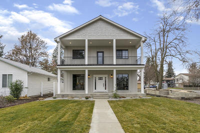 Coeur D'alene Single Family Home For Sale: 301 S 16th St