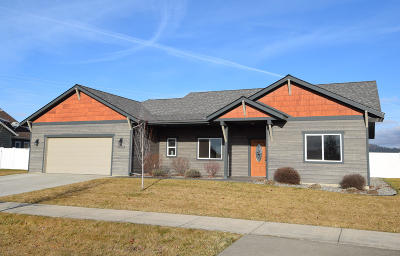 Rathdrum Single Family Home For Sale: 15204 N Pristine Cir
