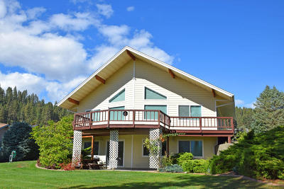 Bonners Ferry Single Family Home For Sale: 7492 Vista Dr