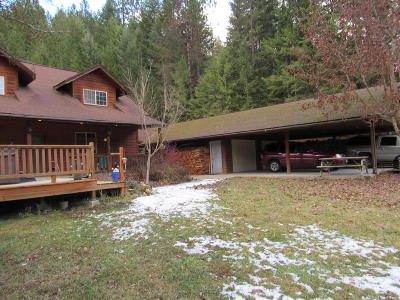 Bonners Ferry Single Family Home For Sale: 107 Kents Gulch Rd