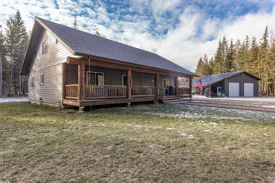 Bonners Ferry Single Family Home For Sale: 3076 Paradise Valley Rd