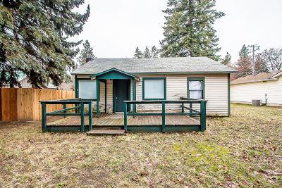 Coeur D'alene Single Family Home For Sale: 2204 E Coeur D Alene Ave