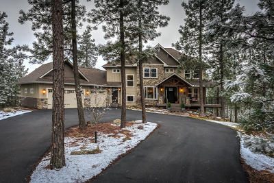 Post Falls Single Family Home For Sale: 19123 W Treend Road