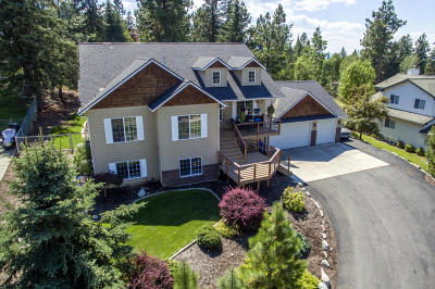 Coeur D'alene, Dalton Gardens Single Family Home For Sale: 2328 E Grandview Dr