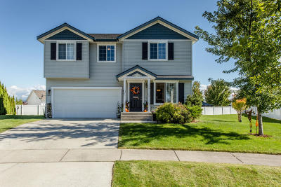 Hauser Lake, Post Falls Single Family Home For Sale: 3451 E White Sands Ln