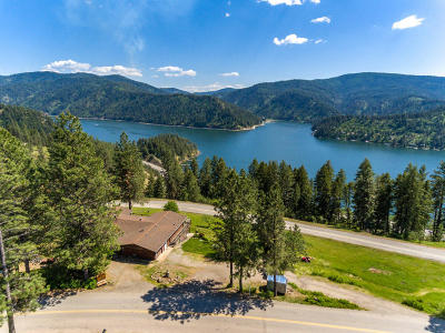 Coeur D'alene Single Family Home For Sale: 5494 S Bonnell Rd