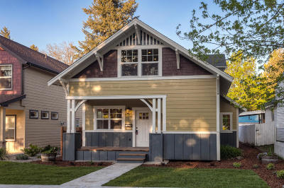 Coeur D'alene Single Family Home For Sale: 312 S 15th St
