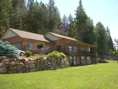 Bonners Ferry Single Family Home For Sale: 12 Tanager Ln