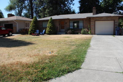 Coeur D'alene Single Family Home For Sale: 609 N 20th St