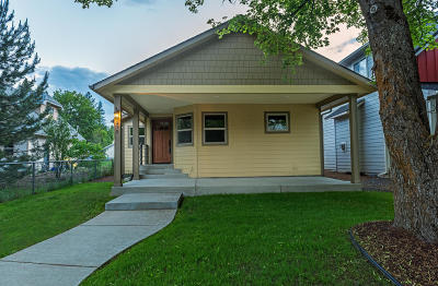 Coeur D'alene Single Family Home For Sale: 315 S 18th St