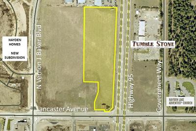 Hayden Residential Lots & Land For Sale: NW Corner Lancaster & Hwy 95