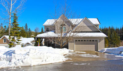 Sandpoint Single Family Home For Sale: 244 Sweetgrass Ln
