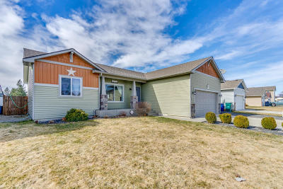 Post Falls Single Family Home For Sale: 1253 N Monticello St