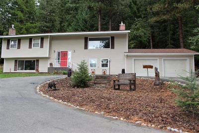 Bonners Ferry Single Family Home For Sale: 6485 Tannenbaum Cir