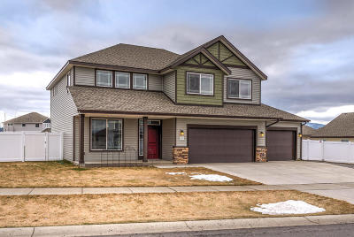 Coeur D'alene Single Family Home For Sale: 1825 W Freeland Dr