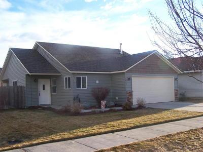 Post Falls Single Family Home For Sale: 1614 E Legion Rd