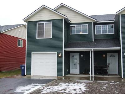 Coeur D'alene Condo/Townhouse For Sale: 572 W Clady Ln