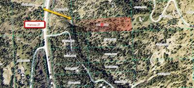 Spokane Residential Lots & Land For Sale: 7200 S Highway 27
