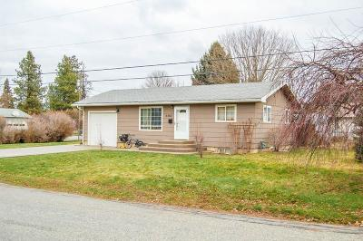 Bonners Ferry Single Family Home For Sale: 6567 Sacramento St