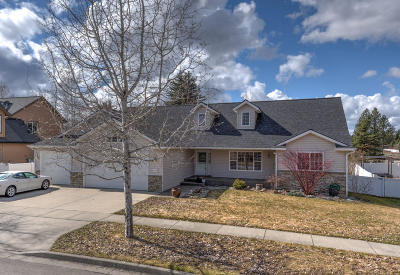 Hayden Single Family Home For Sale: 663 E Round Up Cir