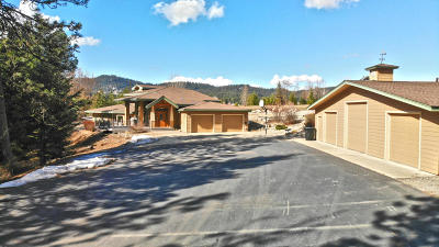 Coeur D'alene Single Family Home For Sale: 5253 W Cougar Estates Rd