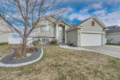 Coeur D'alene Single Family Home For Sale: 7344 N Courcelles Pkwy