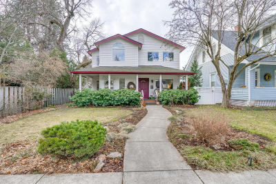 Coeur D'alene Single Family Home For Sale: 1036 E Pine Ave