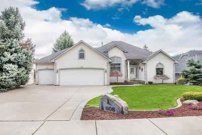 Post Falls Single Family Home For Sale: 1108 S Riverside Harbor Dr