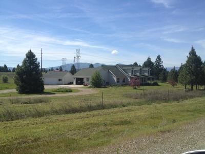 Post Falls Single Family Home For Sale: 14555 W Burlington Rd