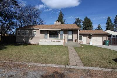Post Falls Single Family Home For Sale: 103 E 9th Ave