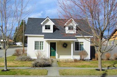 Coeur D'alene Single Family Home For Sale: 1303 E Indiana Ave