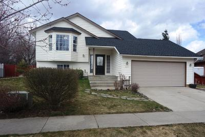 Coeur D'alene Single Family Home For Sale: 2029 W Norman Ave