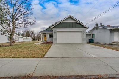 Coeur D'alene Single Family Home For Sale: 1609 E Pennsylvania Ave