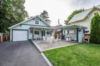 Coeur D'alene Single Family Home For Sale: 407 S 19th St