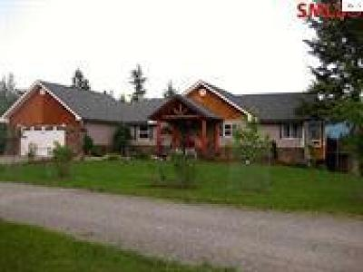 Bonners Ferry Single Family Home For Sale: 267 Bench Rd