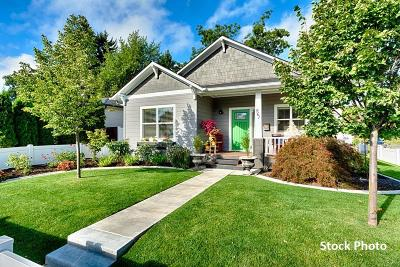 Coeur D'alene Single Family Home For Sale: 1119 N 6th St